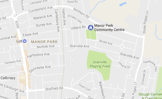 Manor Park Map