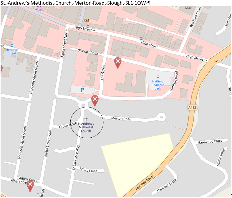 St Andrew's Map