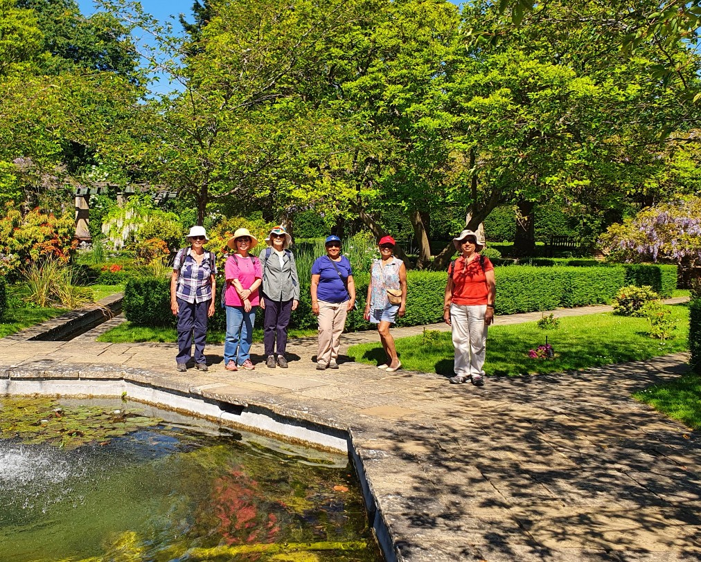 U3A and Ramblers joint walk - at Stok Poges Memorial Gardens